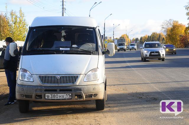 В Коми сотрудники ГИБДД устроили охоту на водителей маршруток