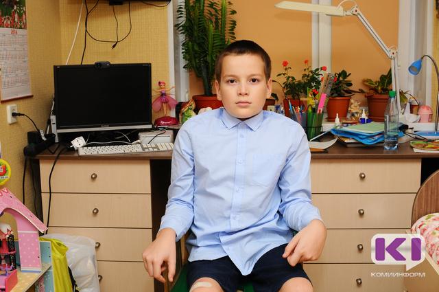 Спасти ребенка: в Коми за день собрали более 40 тысяч рублей для Олега Карманова