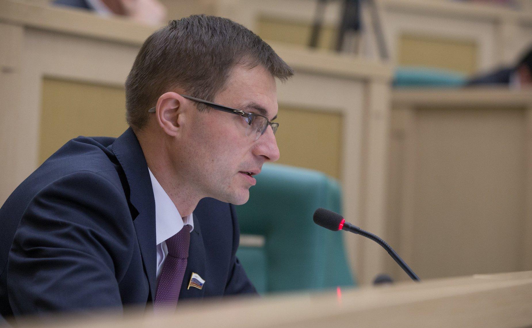 Сенатор от Коми Дмитрий Шатохин вошел в комитет по бюджету и финансовым рынкам