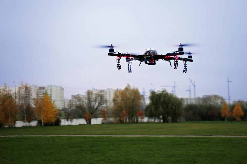 Для поиска пропавших людей в Коми впервые применили дроны