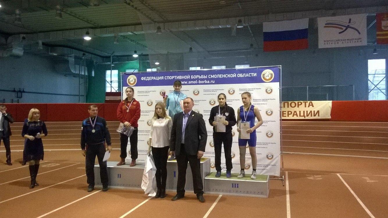 Мария Шибанова из Коми - серебряный призер Первенства России по вольной борьбе среди девушек до 16 лет