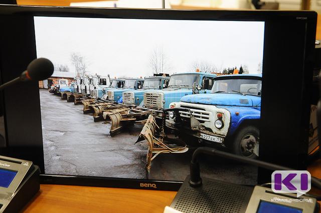 Пермь обеспечила Сыктывкар 40 тоннами реагента на случай гололеда