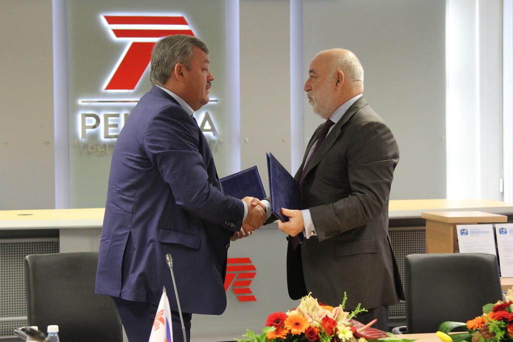 Вексельберг подписал соглашение сглавой Коми осотрудничестве