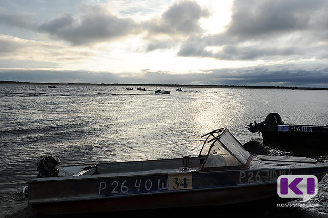 На Печоре пропал рыбак