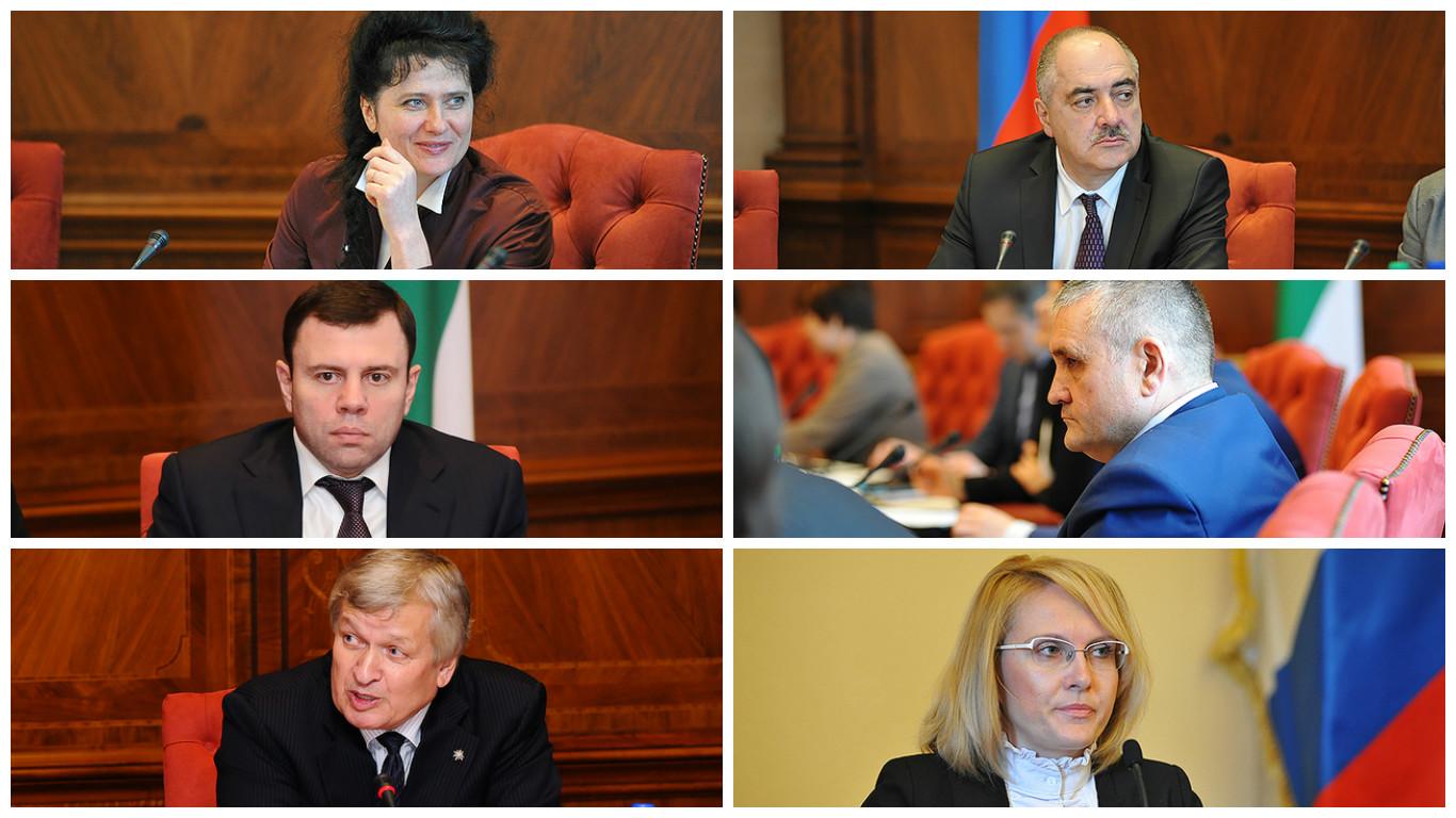 Вице-премьеры Коми распределили обязанности