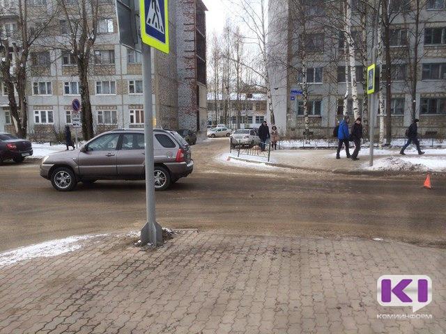 В ДТП в центре Сыктывкара пострадала пенсионерка