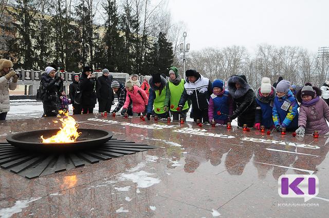 В Сыктывкаре почтили память жертв ДТП
