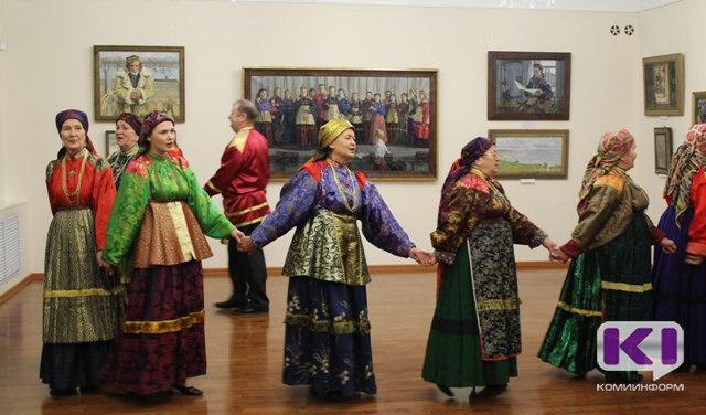 В Сыктывкаре начала работу выставка народного художника России Рема Ермолина