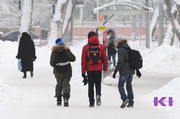 В Сыктывкаре объявлен первый актированный день в этом году