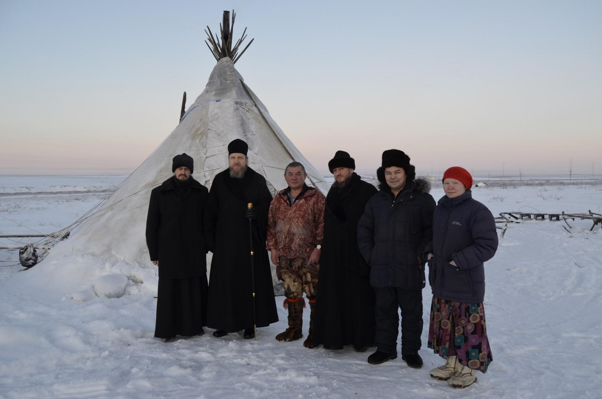 Владыка Воркутинский и Усинский Иоанн побывал у оленеводов с миссионерским визитом
