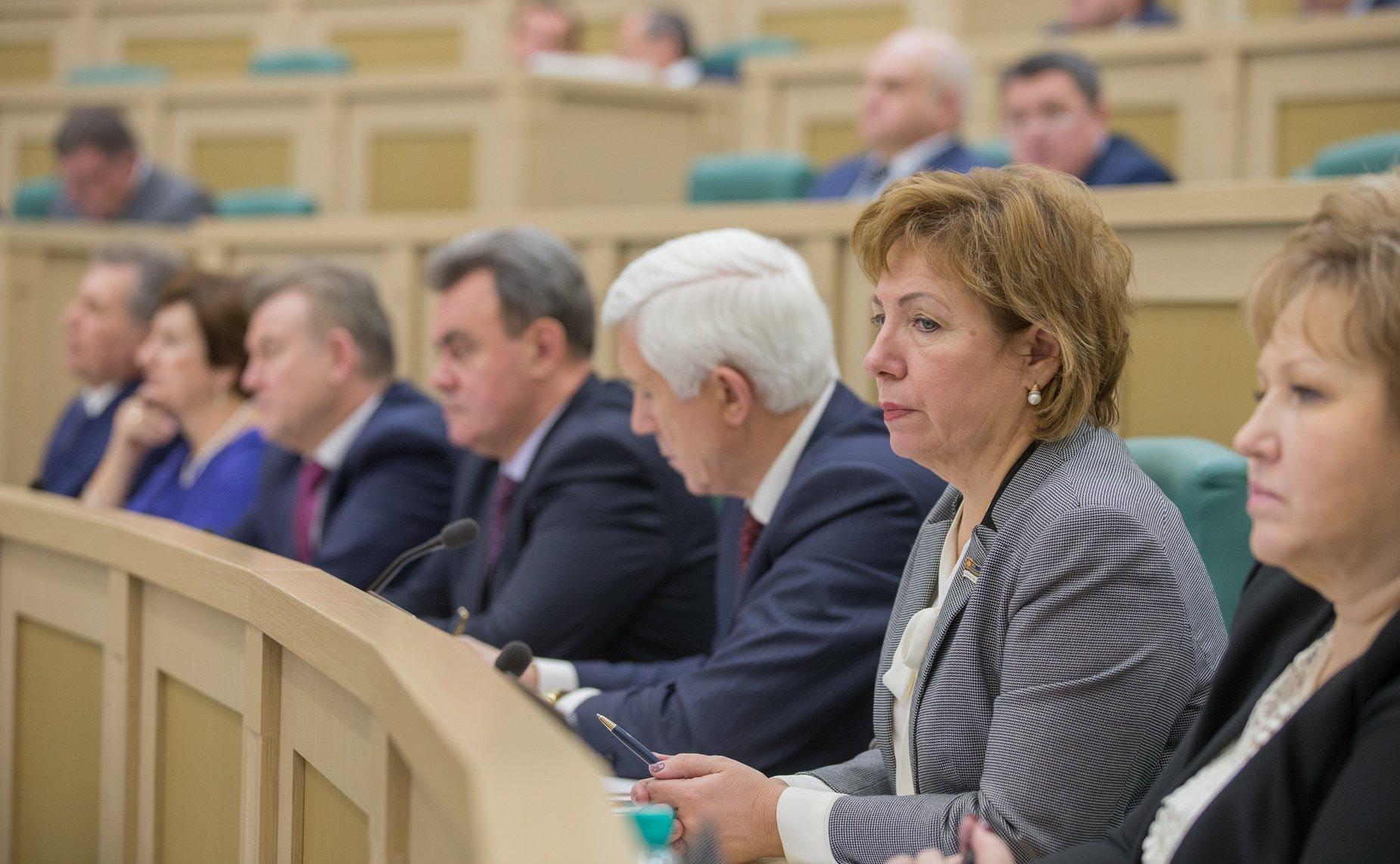 Сергей Корепанов участвует в совещании Совета законодателейРФ приФС