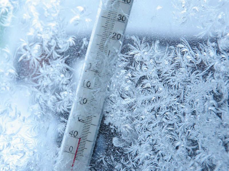 Самой холодной с 12 на 13 декабря была ночь на севере Вуктыльского района