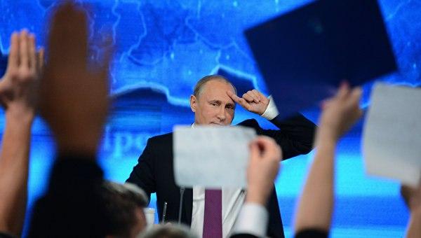 Владимир Путин проведет большую пресс-конференцию 22декабря