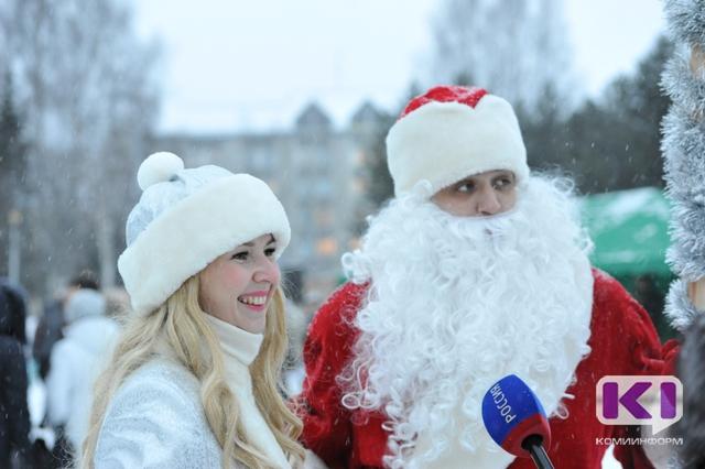Зрителям парада Дедов Морозов в Ухте напомнят о доброте и чудесах