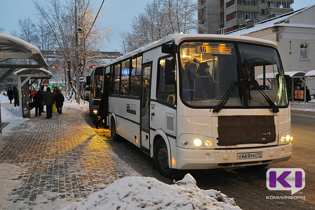 Расписание автобусов в новогоднюю ночь в Сыктывкаре