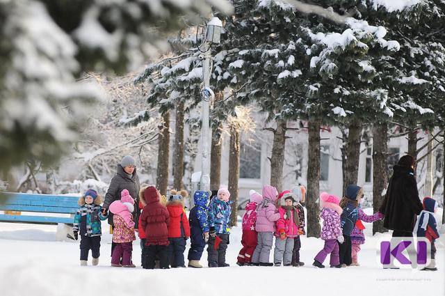 В Коми потеплело, но для школьников  четырех  муниципалитетов продолжаются