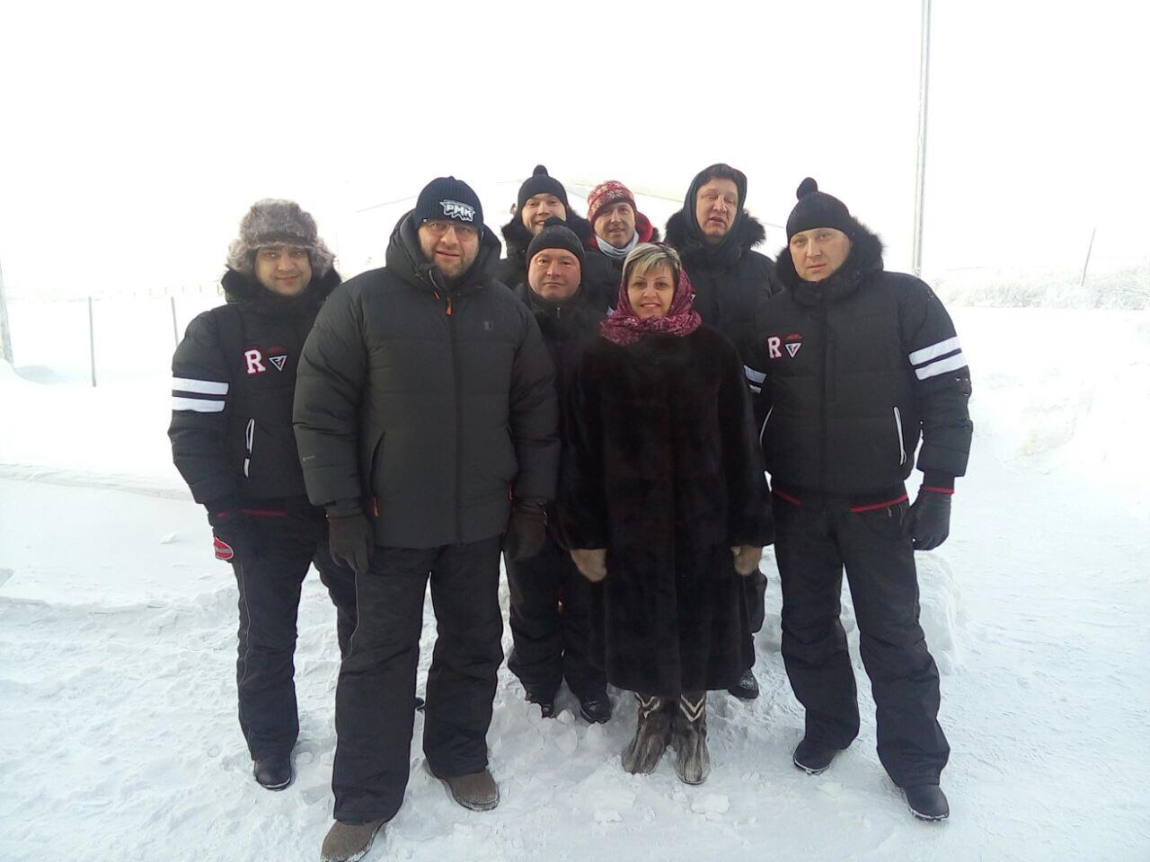 Воркутинский мороз стал испытанием для Михаила Пореченкова и его коллег
