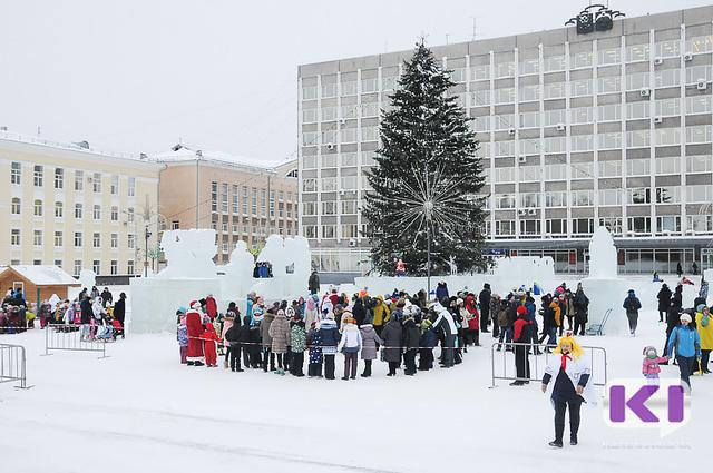 В Сыктывкаре открылась главная Ёлка республики