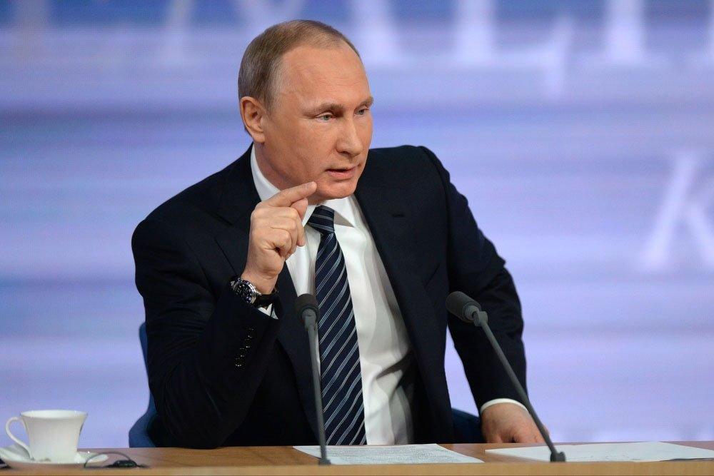 Путин считает нецелесообразным введение дифференцированного дохода на физических лиц
