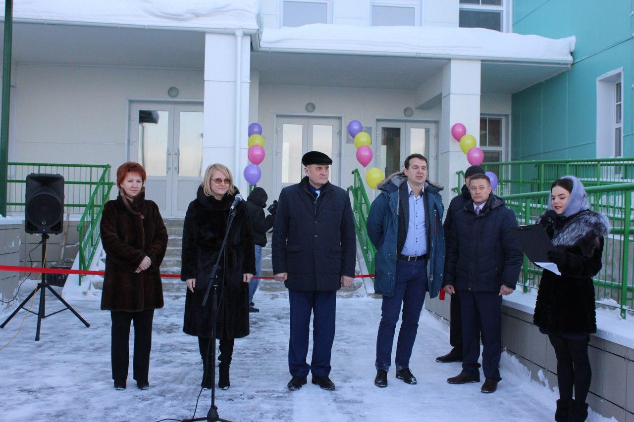 В селе Объячево Прилузского района открыли новый детский сад на 220 мест