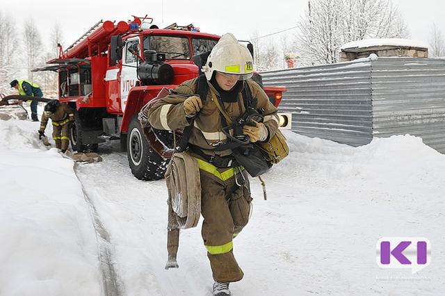 Пожар в складском помещении в сыктывкарском местечке Дырнос унес жизнь мужчины