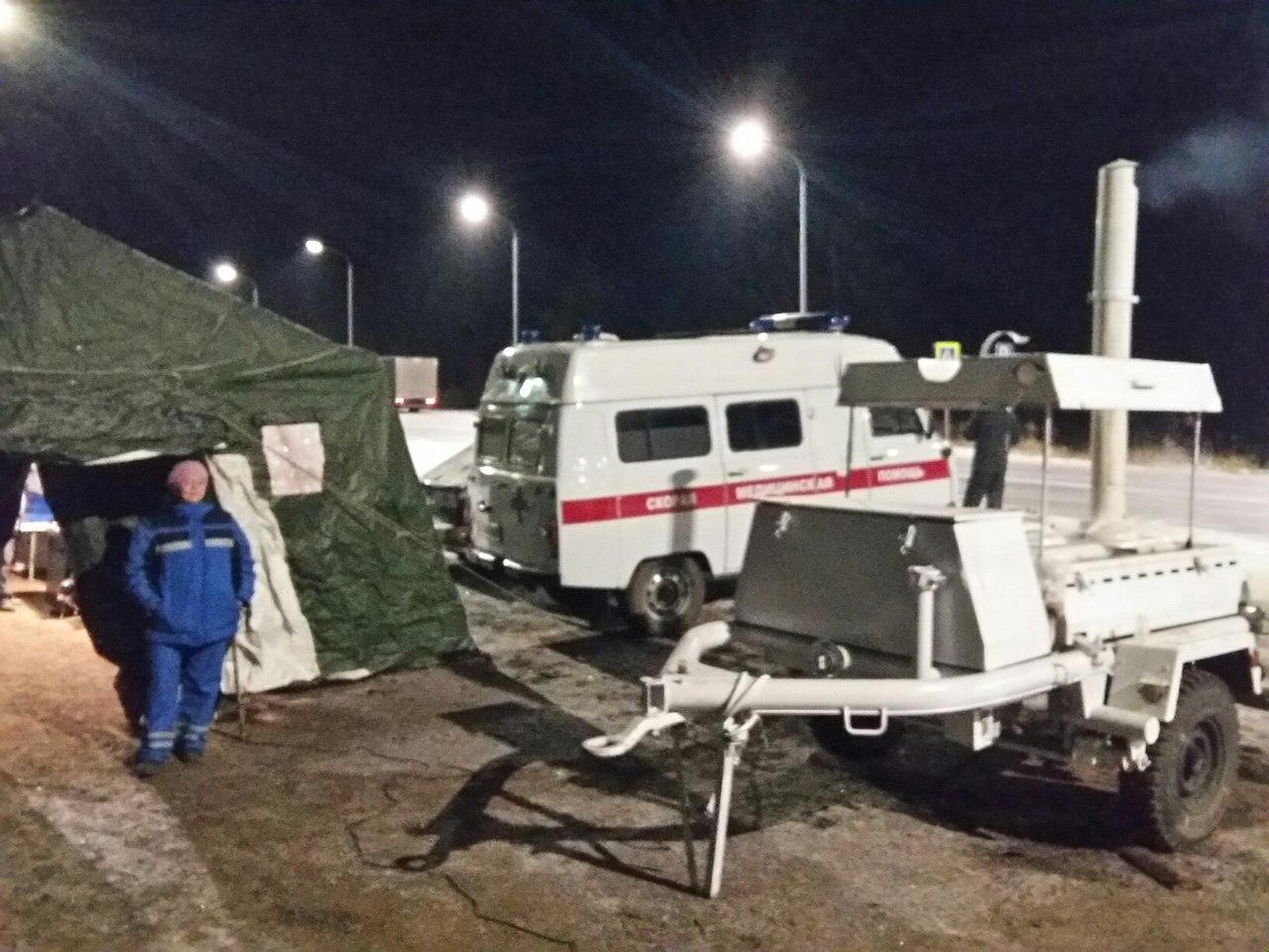 Передвижные пункты обогрева не понадобились в Коми во время морозов