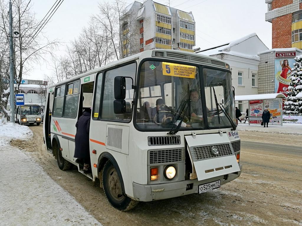 Нарушений в сфере автобусных пассажирских перевозок в Сыктывкаре не выявлено - мэрия
