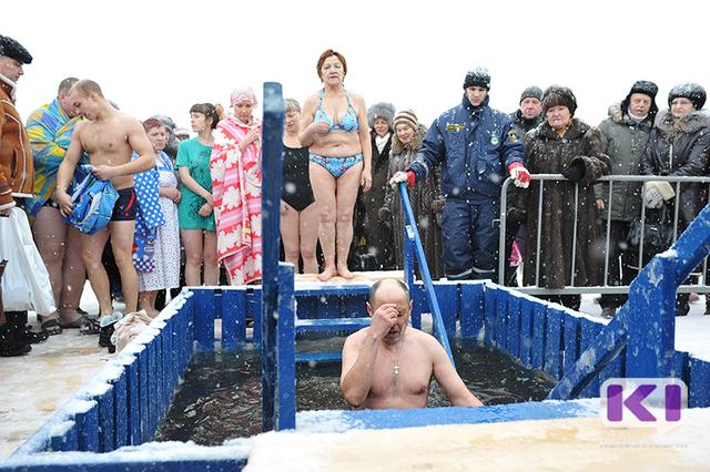 В Сыктывкаре продолжается подготовка к Крещенским купаниям