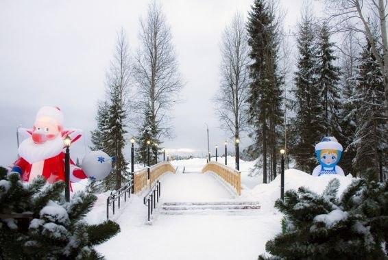 В новогодние праздники Финно-угорский этнопарк посетили более полутора тысяч человек
