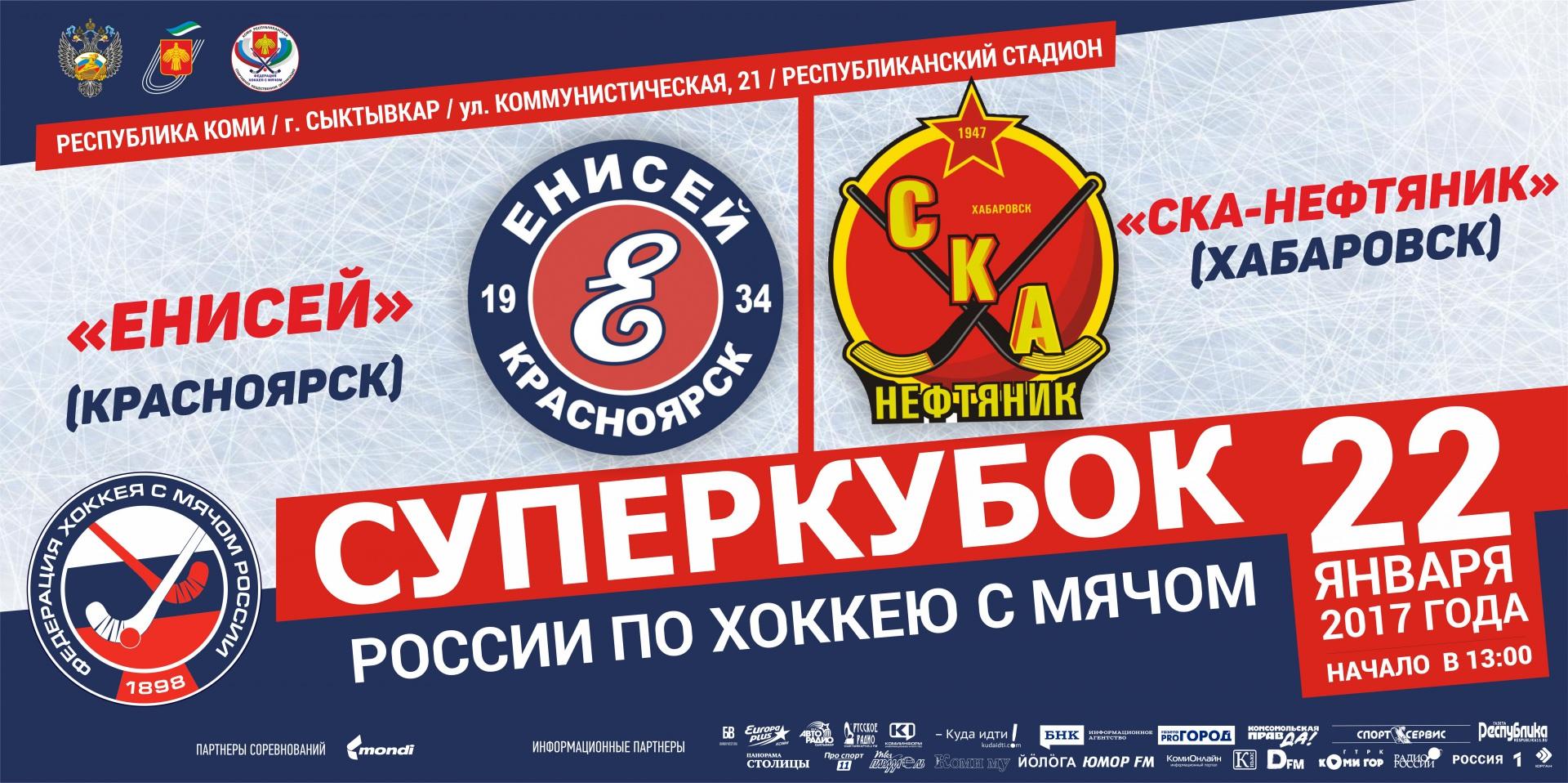 В Сыктывкар приедет специальная комиссия Федерации хоккея с мячом России