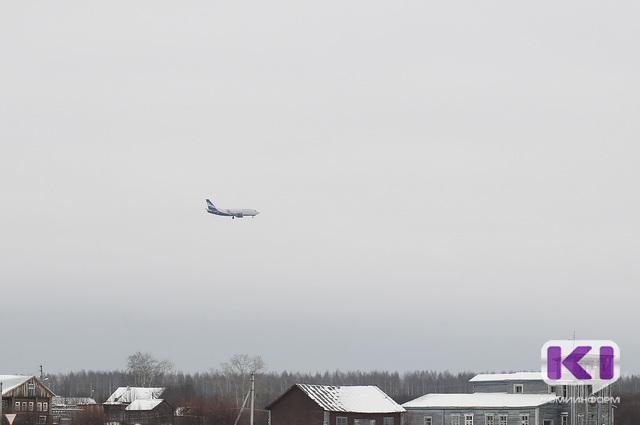 Метель внесла серьезные коррективы в работу Сыктывкарского аэропорта