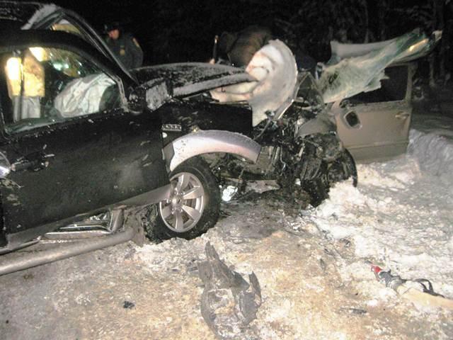 ВПрилузском районе при столкновении авто умер один человек