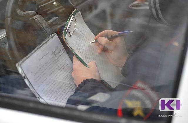 В Княжпогостском районе водитель иномарки попался на взятке сотруднику ГИБДД