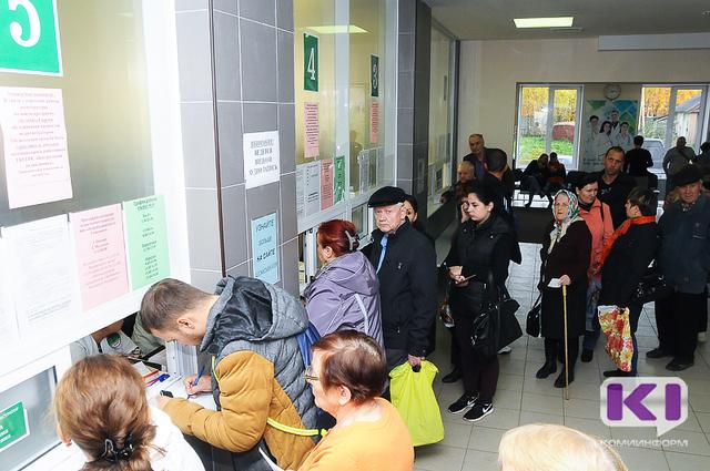 В Коми почти 9 тысяч человек обратились за медпомощью с симптомами ОРВИ и гриппа
