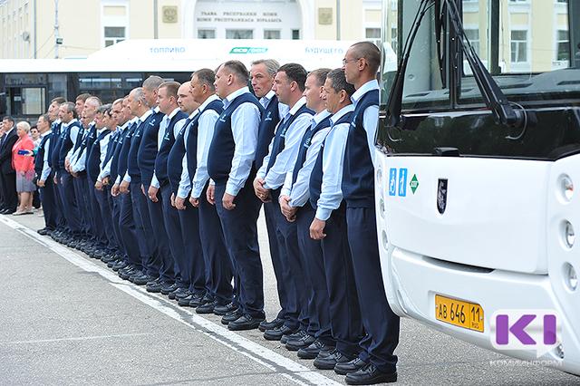 Из-за неженатых водителей автобусов автоперевозчик в Сыктывкаре не смог ввести форменную одежду