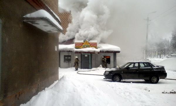 На пожаре в Сосногорске погибли люди