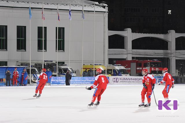 Сборная России в Сыктывкаре не оставила шансов юниорам из Финляндии