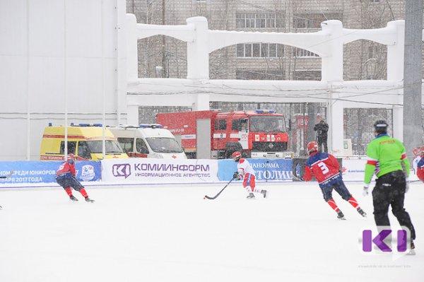 Сборная России в Сыктывкаре победила во всех матчах группового этапа Первенства мира по хоккею с мячом среди юниоров
