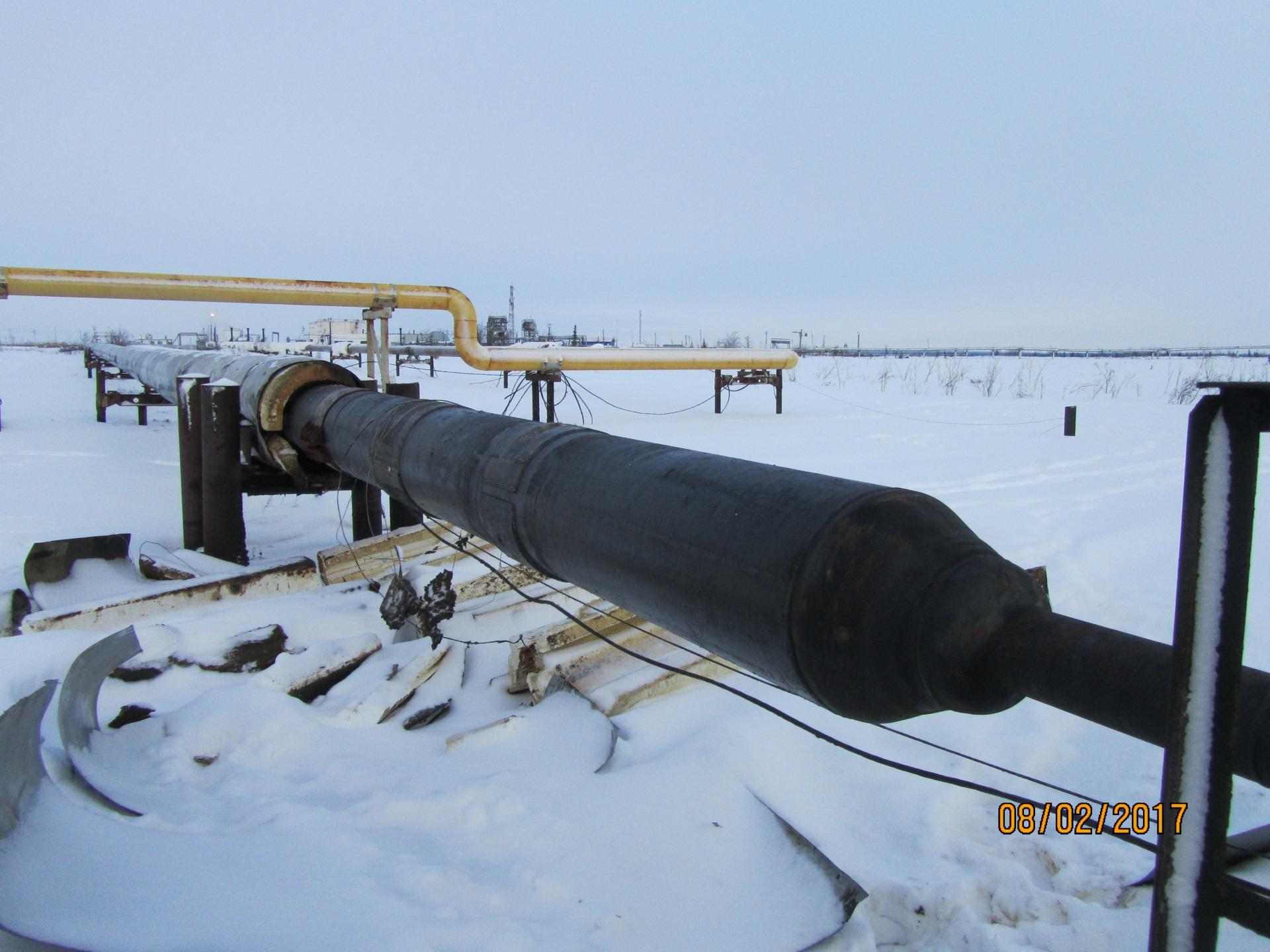 В Усинском районе зафиксирован разлив нефти
