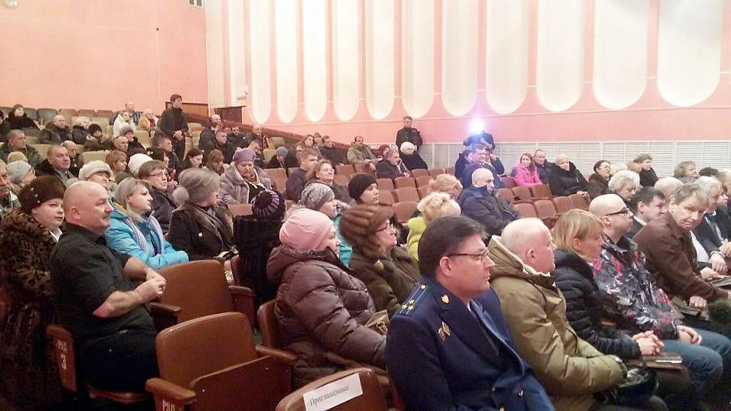 Мэр Воркуты Игорь Гурьев выслушал претензии воргашорцев