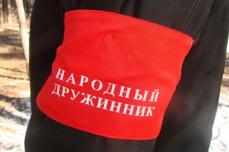 Полиция Сыктывкара предлагает материально стимулировать дружинников