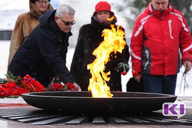 В столице Коми почтили память воинов-интернационалистов, служивших за пределами Отечества