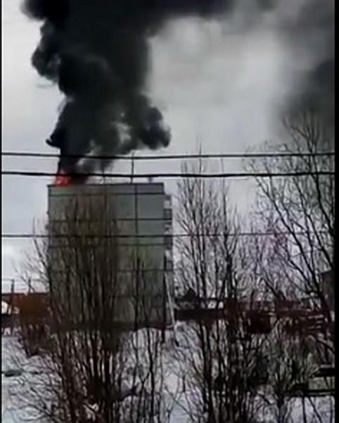 На пожаре в Выльгорте эвакуировали 25 человек