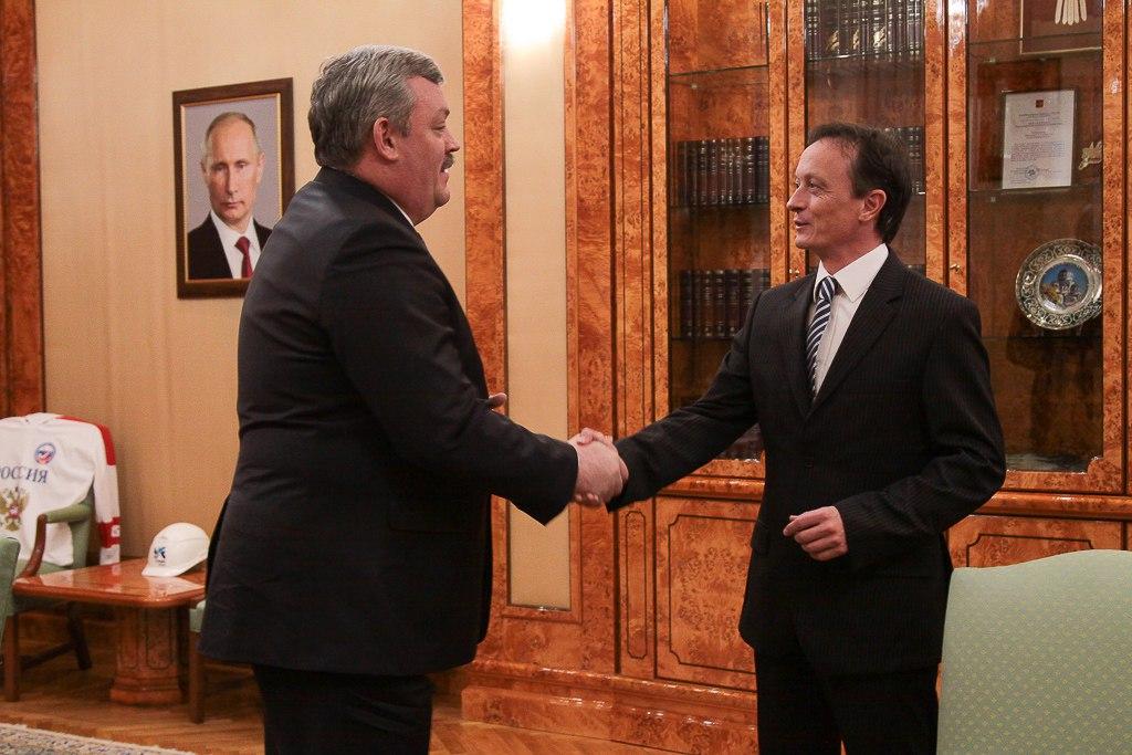 Сергей Гапликов поблагодарил за сотрудничество АО