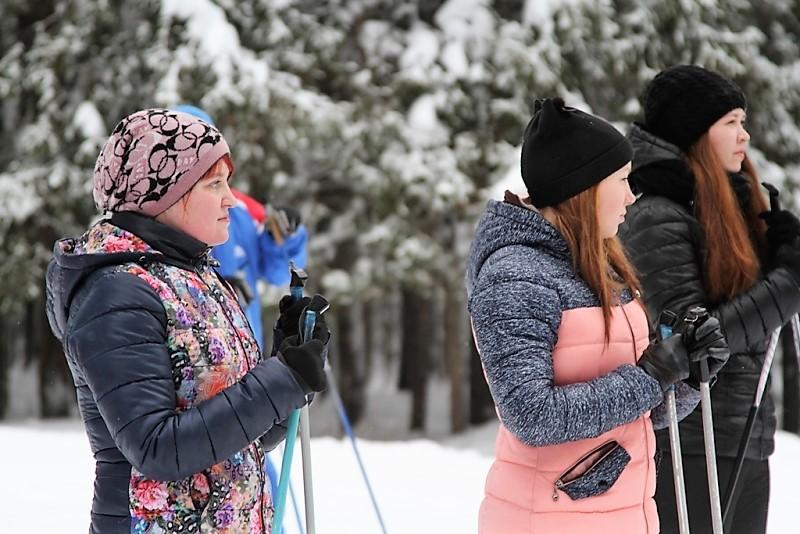 Полицейские Коми провели для сыктывкарских студентов лыжный мастер-класс