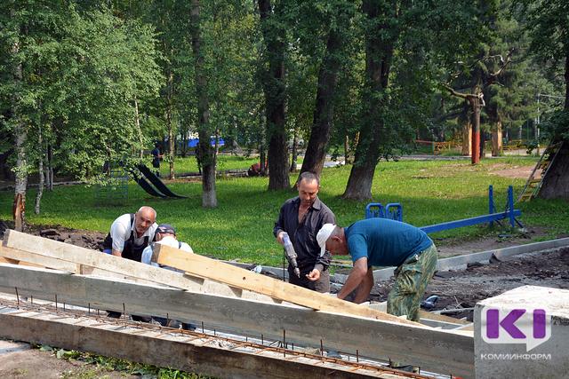 Коми получит более 250 миллионов рублей на благоустройство городской среды