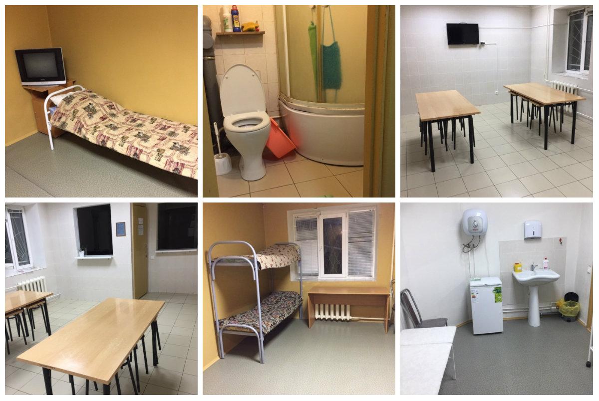 Казенный дом для нелегальных мигрантов в Коми: иностранцы  живут с комфортом и уезжать не собираются