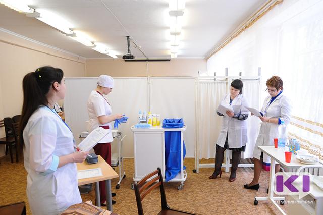 Будущие медсестры сражаются за звание самой компетентной в Коми