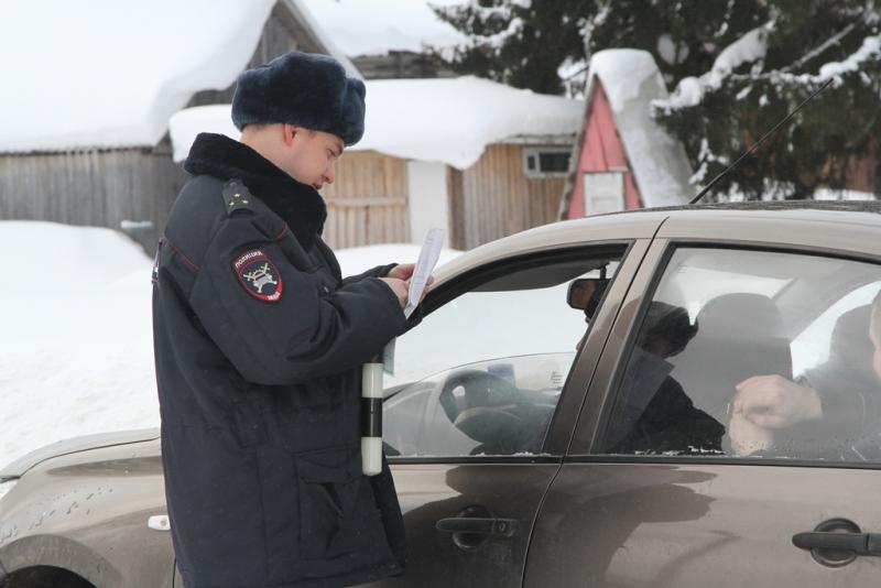 Десант МВД по Коми высадился в селе Сторожевск