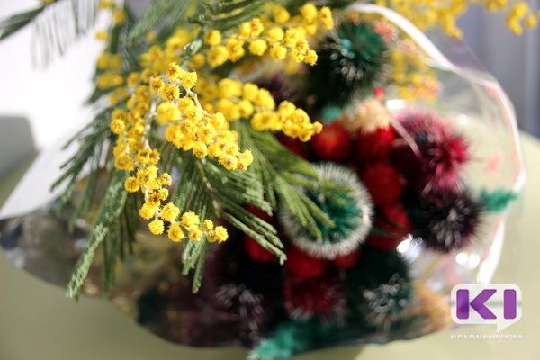 Мимоза и сухоцветы из Абхазии и Сочи